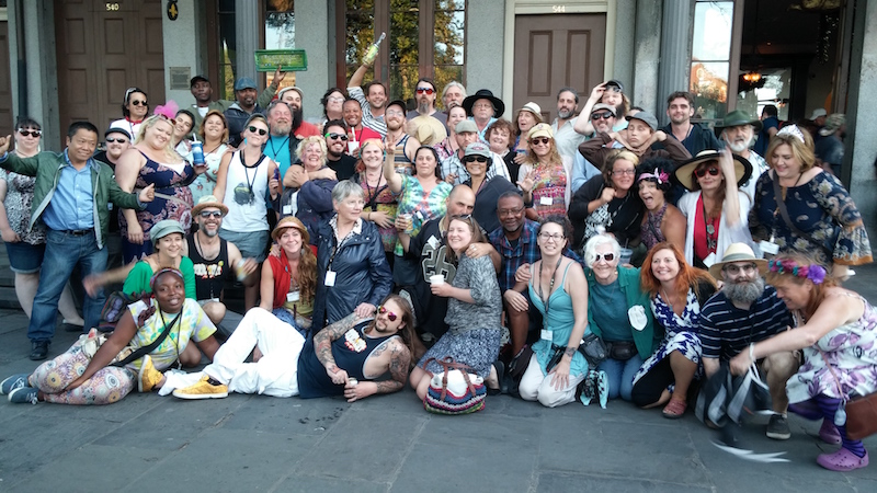 Jackson Square Artists Group Photo